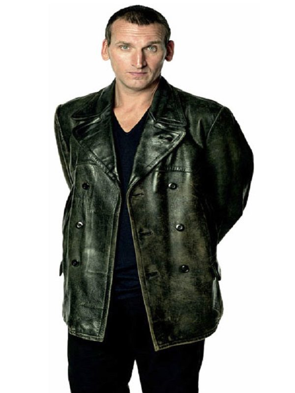 Doctor Who Series Episode 21 Christopher Eccleston Black Leather Coat