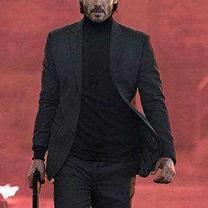 John Wick Chapter 3 Keanu Reeves Black Suit