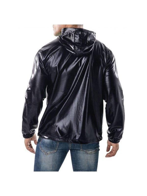 Men's Drawstring Hoodie Jacket