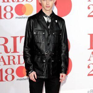 Singer Troye Sivan Black Leather Jacket