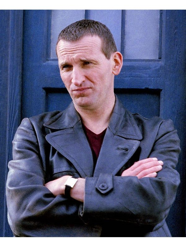 Doctor Who Christopher Eccleston Leather Coat