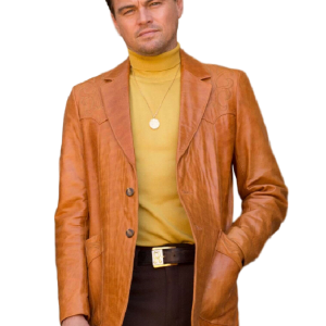 Movie Once Upon a Time in Hollywood Rick Dalton Leonardo DiCaprio Suit Coat