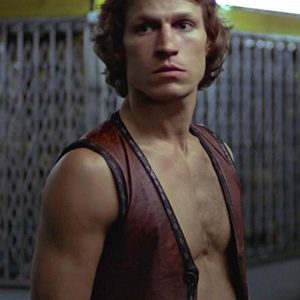 Michael Beck Swan Warriors Leather Vest