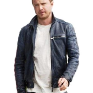 Need for Speed Tobey Marshall Aaron Paul Leather Jacket