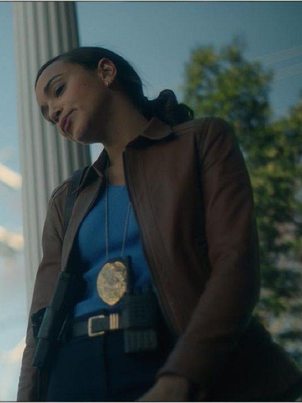 The Umbrella Academy Detective Eudora Patch Ashley Madekwe Jacket
