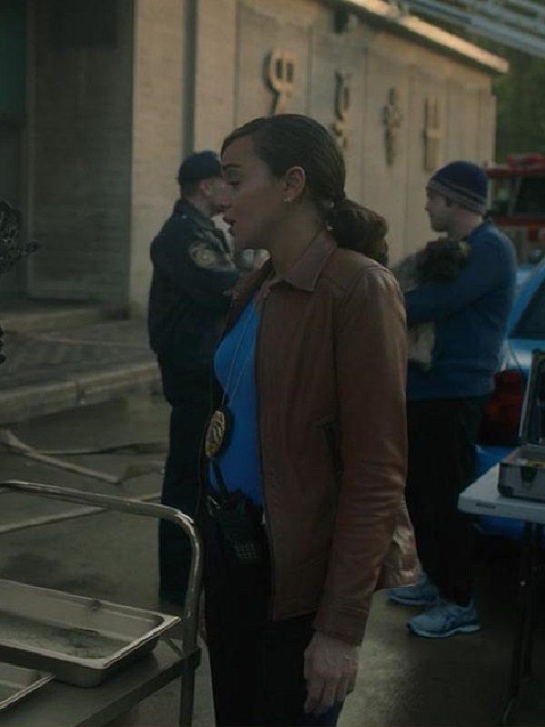 TV Drama The Umbrella Academy Detective Eudora Patch Ashley Madekwe Jacket