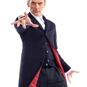 Doctor Who Series Peter Capaldi Wool Coat