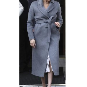 American actress Meghan, Duchess of Sussex Wool Coat