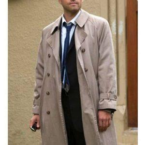 Fantasy, Horror TV Drama Supernatural Castiel Misha Collins Coat
