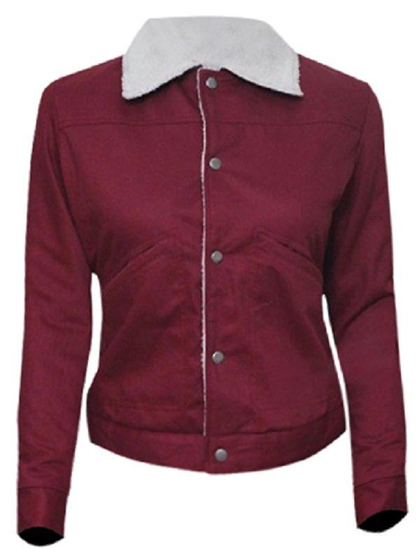 Horror, Fantasy TV Series Stranger Things Nancy Wheeler Natalia Dyer Cotton Jacket