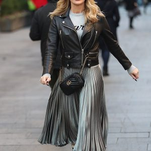Stylish Amanda Leather Jacket