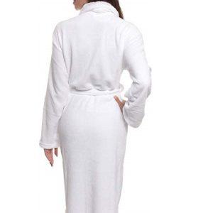 Womens Bathrobe Plush Wrap Luxury Towels Gown