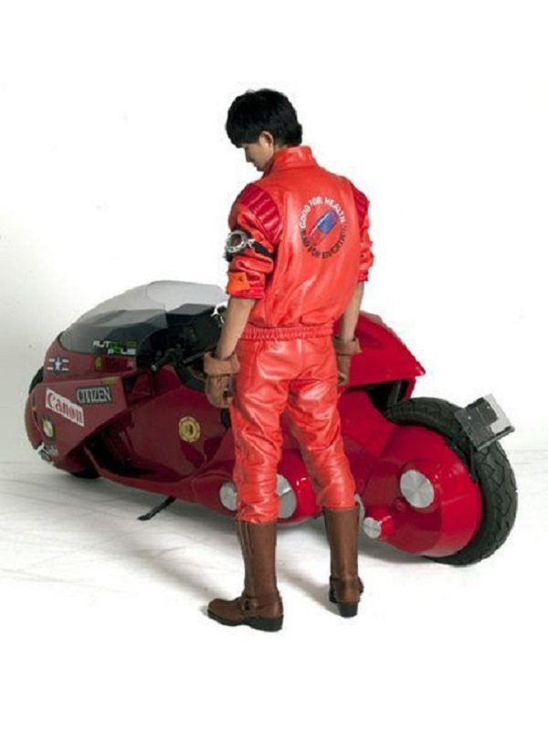 Akira Kaneda Pill Capsule Leather Jacket