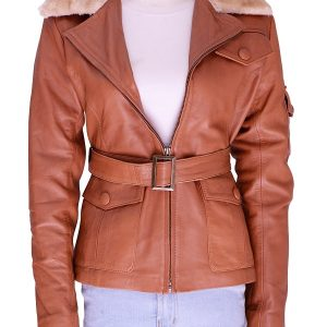 Night at the Museum: Battle of the Smithsonian Amelia Earhart rown Jacket