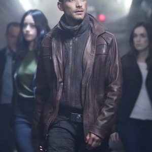 Jeff Ward Agents of S.H.I.E.L.D Deke Shaw Bron Jacket