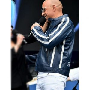 Fast and Furious 9 Concert Vin Diesel Blue Jacket