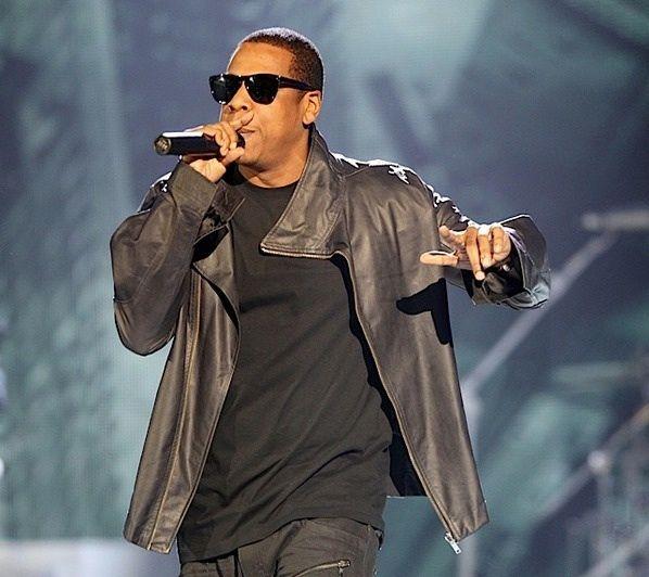 Rapper JAY Z IN Rick Owens Leather Men Jacket