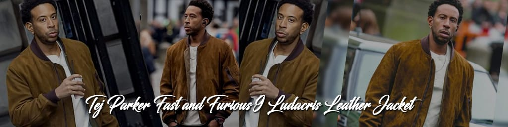 Tej Parker Fast and Furious 9 Ludacris Leather Jacket