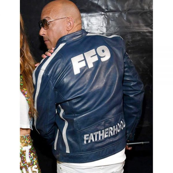 The Road To Fast and Furious 9 Concert Vin Diesel Blue Jacket