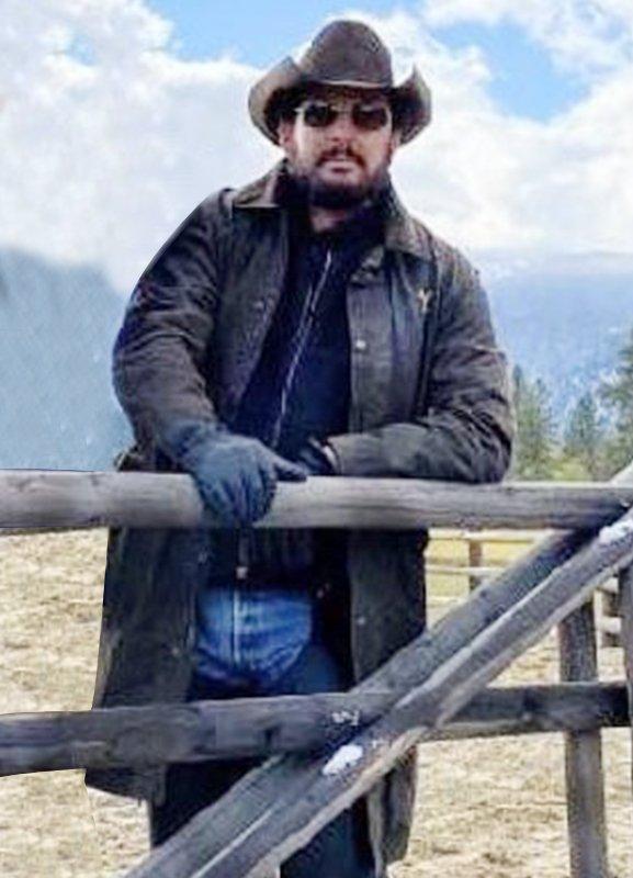 cole hauser yellowstone rip wheeler leather coat