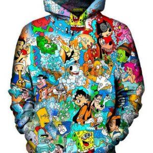 Funny Unisex Hoodie Sweatshirt Jacket Pullover Top