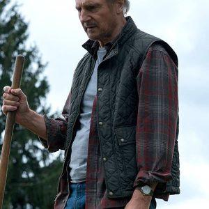 Liam Neeson The Marksman Green Vest
