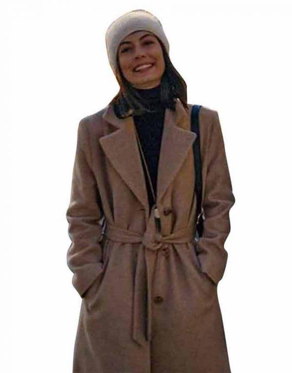 Master Of None S03 Francesca Brown Belted Coat