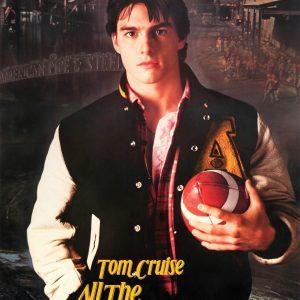 Tom Cruise All the Right Moves Stefen Djordjevic Bobmer jacket