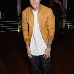 Justin Bieber At Carvel Festival Jacket