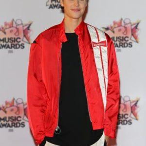 Justin Bieber Flipping Chairs Jacket